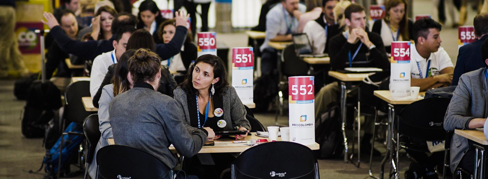 56% of buyers are at ProColombia Travel Mart for the first time