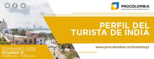 Seminario online sobre el perfil del turista de India