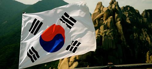 Bandera -  Corea del sur
