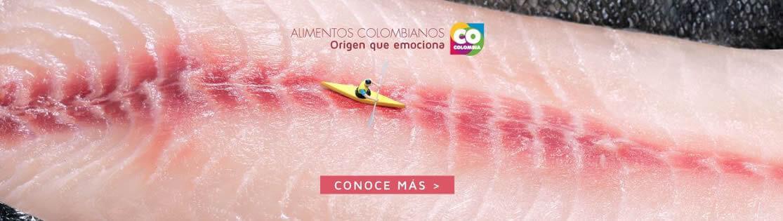 Alimentos colombianos, Origen que emociona