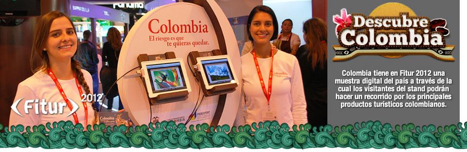 Colombia tiene en fitur 2012 una muestra digital del país a través de la tecnolo