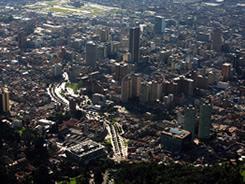 Vista de la ciudad de Bogotá