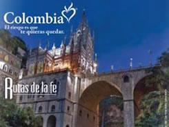 Rutas de la Fe es el nombre del brochure que Proexport Colombia acaba de publica