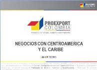 Negocios con Centroamérica y el Caribe