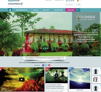 There Are 285 Colombian Destinations On The New Tourism P Procolombia