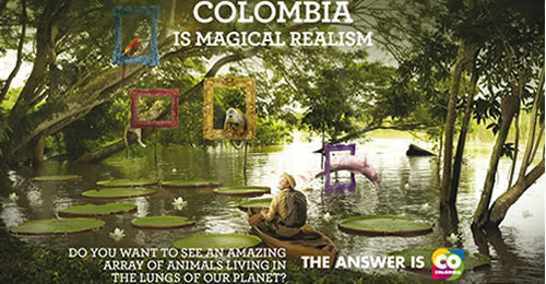 Colombia, named best eco-tourism destination at the Chine
