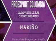 Revista de oportunidades Proexport Nariño