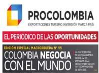 Periodico de oportunidades ProColombia - Macrorrueda 55 - Exportadores