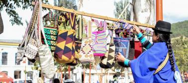Desde Panamá hasta Nueva Zelanda admiran las artesanías colombianas