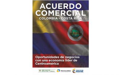 ProColombia publica cartilla de oportunidades con el TLC de Costa Rica