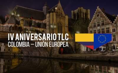 4 aniversario del TLC con la Unión Europea