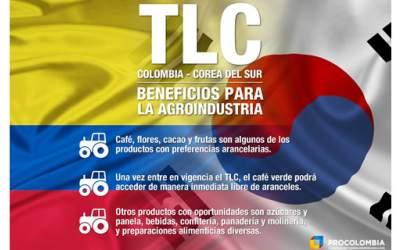 Café, flores, cacao y frutas, productos con cero arancel tras vigencia del TLC c