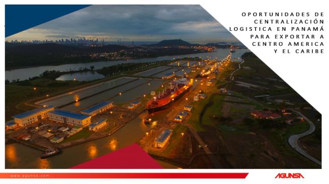Seminario de Oportunidades de Centralización Logística con Panamá para Exportar
