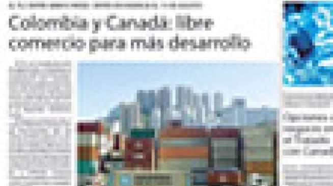Colombia y Canadá: libre comercio para más desarrollo - La República - 16 de ago