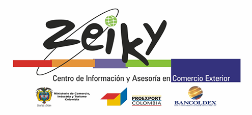 Logo of the Information and Advice Centre in Foreign Trade Zeiky