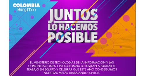 AGENDA DE EVENTOS PROCOLOMBIA DEL 12 AL 18 DE DICIEMBRE