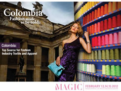 17 Colombian companies specialized in textile and Garments will be attending Mag