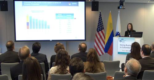 """, María Claudia Lacouture realizó la presentación en el evento """"Doing Business C"""