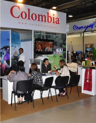 Colombia en feria de turismo de Ecuador