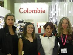 Tina Neuman, Andrea Castro, Viviana Alba y Betina Spitz