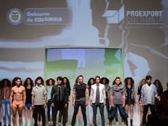 Pasarela colombiana inauguró feria de moda en México