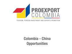 Seminario de Oportunidades Comerciales e Inversión Colombia- China