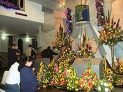 El Santuario del Divino Niño es quizá el lugar del país a donde más feligreses h