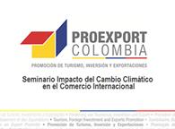 Seminario Impacto del Cambio Climático en el Comercio Internacional