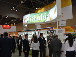 Colombian foods were enjoyed at a specialized fair in South Korea