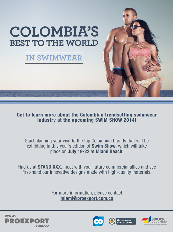 feabcfe96c916 The Biggest Swimwear Tradeshow in the United States: Swim   PROCOLOMBIA